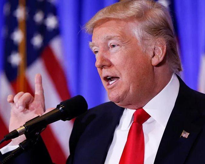 Трамп поздравил граждан США сДнем благодарения