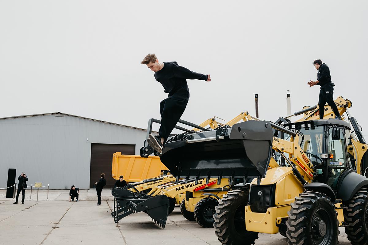 «Русбизнесавто» представила технику New Holland в рамках клиентского дня в Красноярском крае