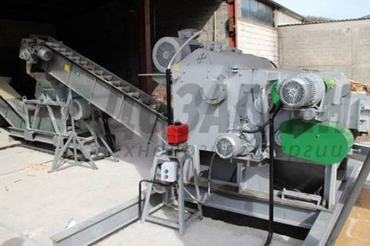 Машины для производства щепы